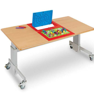 Two person face to face electronic table